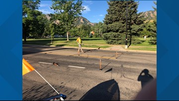 Plunger protest calls attention to cyclist safety issues in Boulder