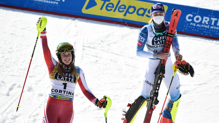 'Felt like flying': Liensberger topples Shiffrin