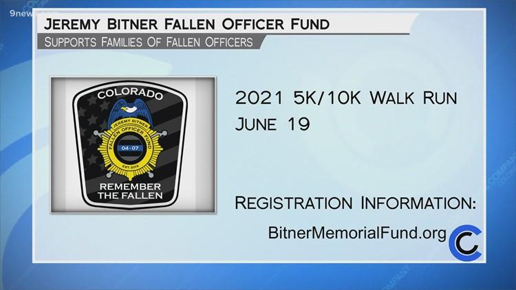 Jeremy Bitner Fallen Officer Fund - June 15, 2021