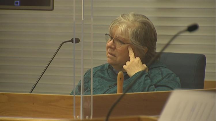Steve Pankey's ex-wife describes his behavior in the days after Jonelle Matthews was killed