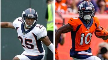 Did Chris Harris Jr., Emmanuel Sanders play their last home game for Broncos?