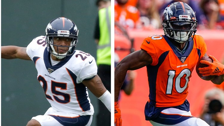 Did Chris Harris Jr., Emmanuel Sanders play their last home game for Broncos?