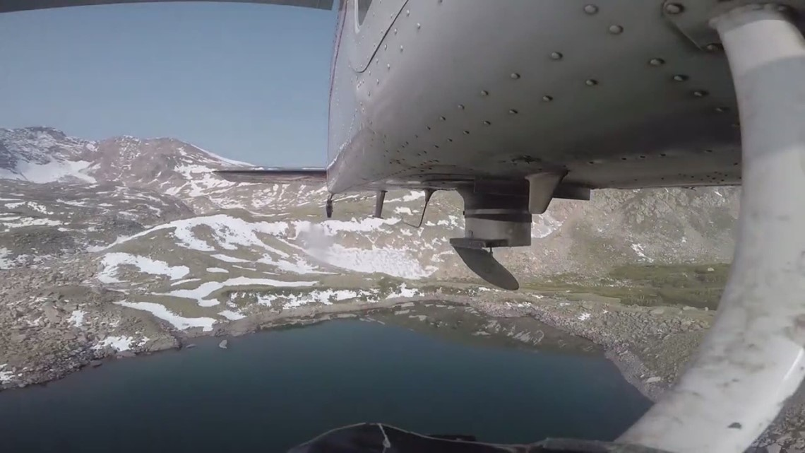 Planes used to stock fish in alpine lakes