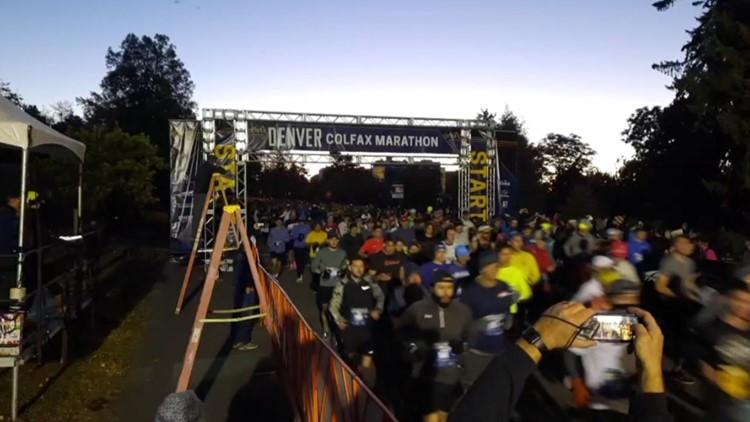 Expect road closures on Saturday for Colfax Marathon