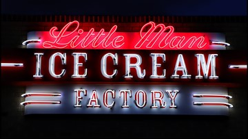 A look inside the Little Man Ice Cream Factory that opened near Sloan's Lake Saturday