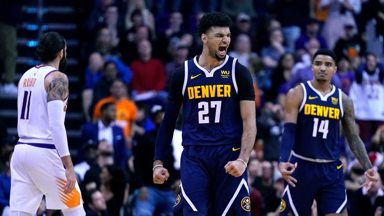 Nuggets Suns Basketball Jamal Murray