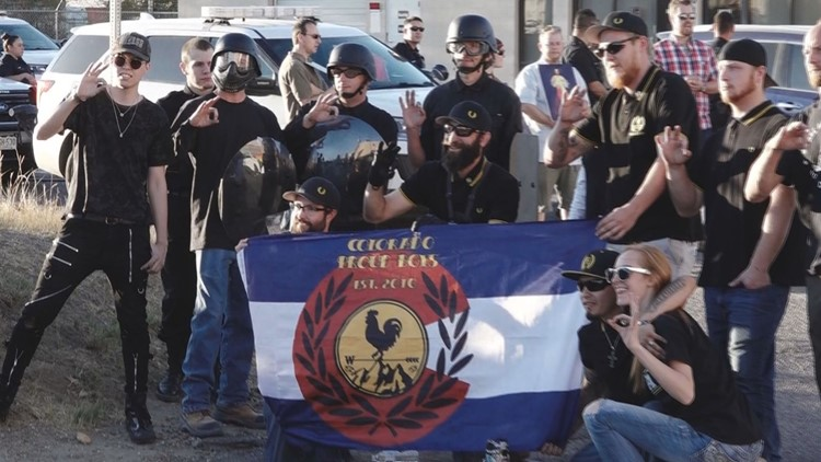 Cordova with Proud Boys