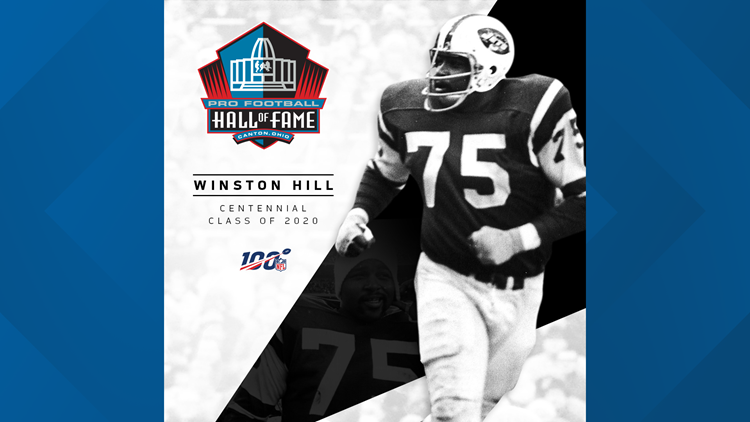Winston Hill Hall of Fame