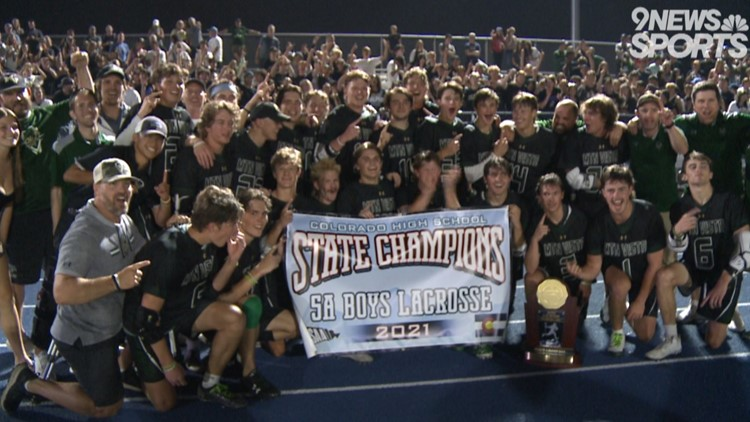 Mountain Vista boys lacrosse tops Valor Christian in OT thriller to claim 5A state title