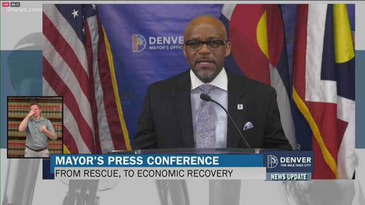 Full news conference: Hancock announces economic recovery strategy for Denver