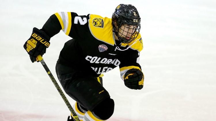 Colorado College's Trevor Gooch  NCAA hockey