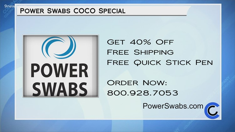 Power Swabs - March 3, 2021