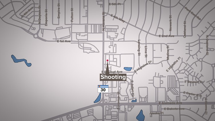 Two people in serious condition after shooting in Aurora parking lot