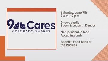 How donating to 9Cares Colorado Shares helps communities in Colorado