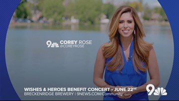 Corey Rose's 9th annual Wishes and Heroes Benefit set for Saturday, June 22, 2019