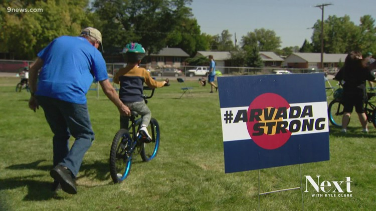 Beesley's Bike Build: 2nd graders gifted new bikes in honor of fallen Arvada officer