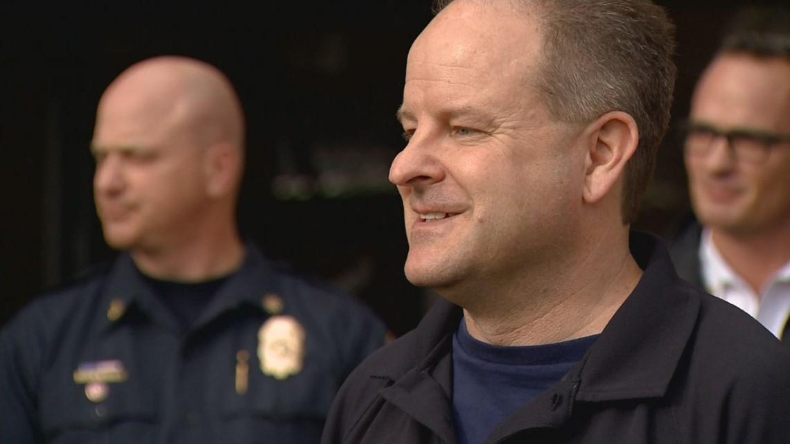 Denver Fire chief resigns (but he's not going far)