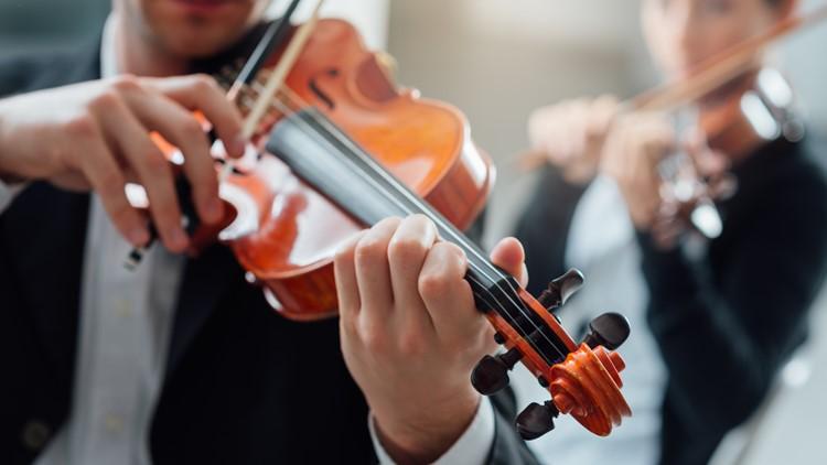 classical music concert violin violins