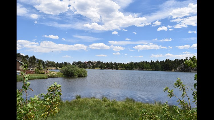 An iconic lake view at Red Feather Lakes.