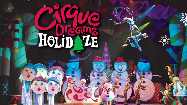 CIRQUE DREAMS HOLIDAZE at GAYLORD RESORT