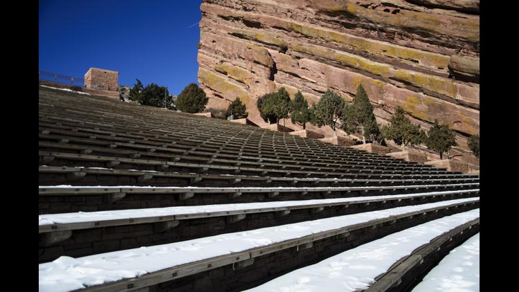 Colorado's Red Rocks Amphitheatre