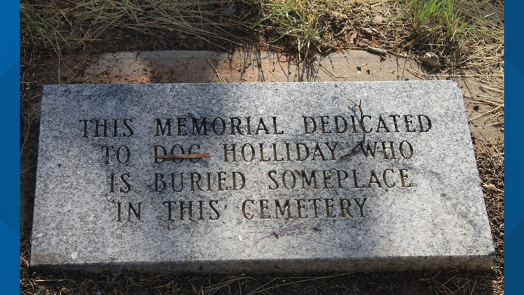 Doc Holliday headstone marker