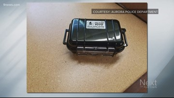Nobody stole bait boxes planted by Aurora PD to catch porch pirates