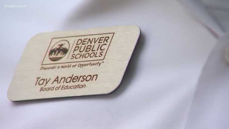 Tay Anderson returns to DPS board amid investigation into sexual misconduct allegations