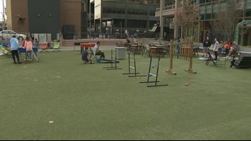 Spring is a great time to check out Denver's Skyline Park