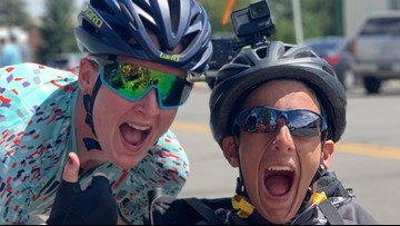 Cyclist, athlete with cerebral palsy team up to ride for inclusion
