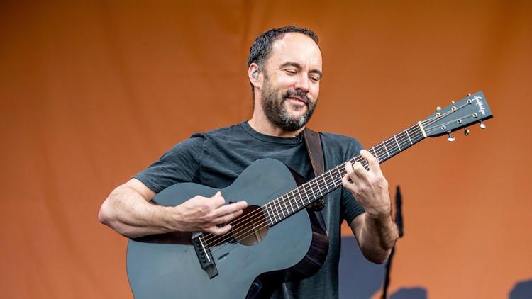 Dave Matthews of the Dave Matthews Band