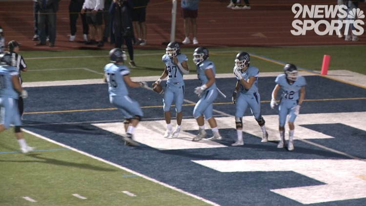 No. 1 Valor Christian passes test from No. 3 Columbine behind Sawchuk's four TDs