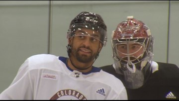MIC'D UP: newest Avalanche center Pierre-Édouard Bellemare finds his fit