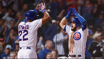 Bote's career-high 7 RBIs lead Cubs over Rockies 9-8