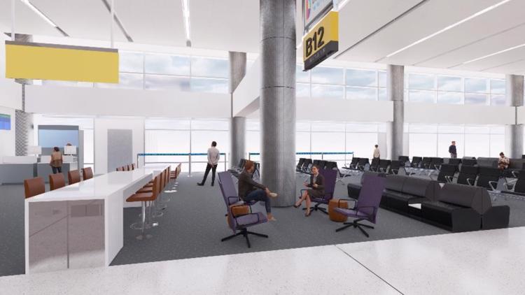 DIA new concourse