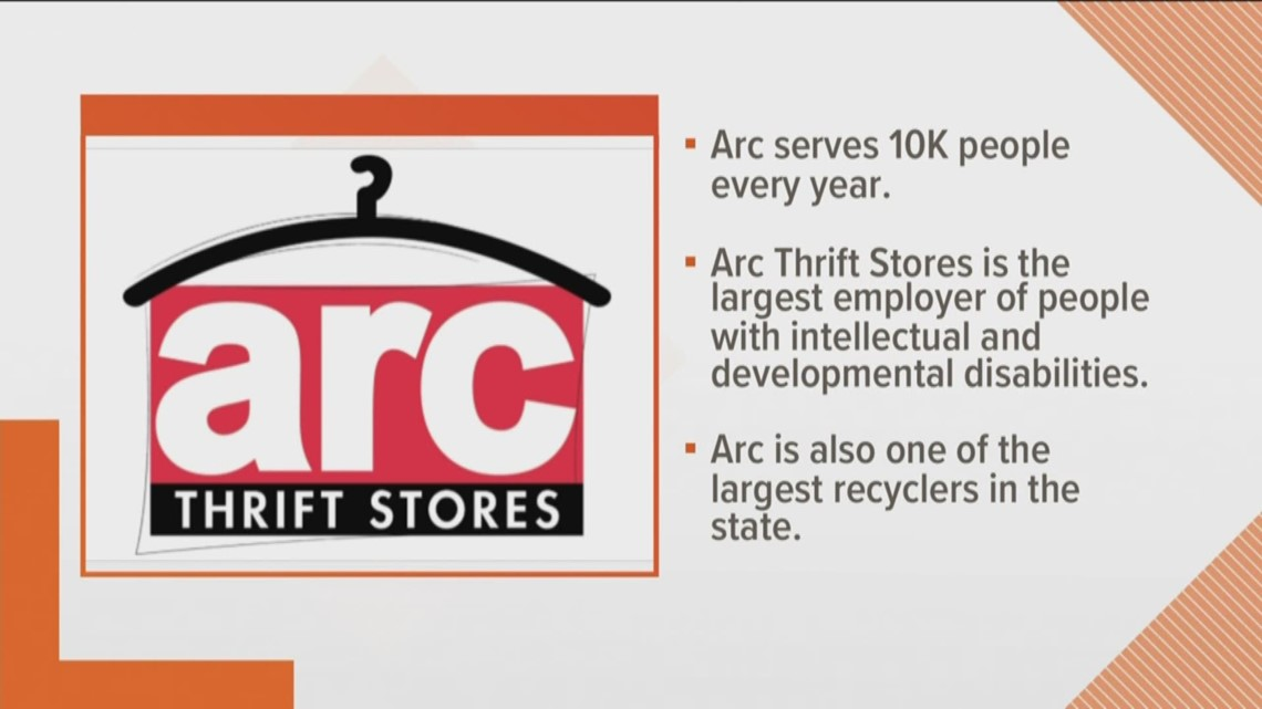 Old clothing has big benefit to local community through ARC Thrift stores