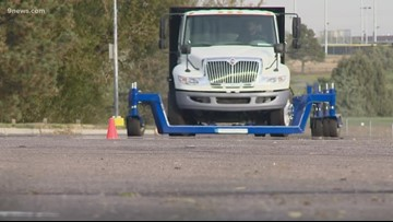 Colorado driving school helps semi-truck drivers be safe while driving on snow and ice