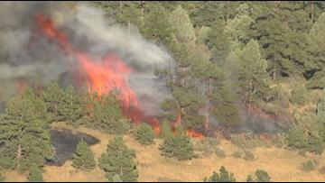 Crews continue to battle Bald Mountain Fire