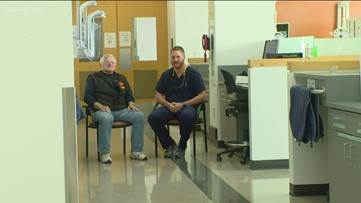 Marine staff sergeant, Air Force second lieutenant become patient, doctor at Heroes Clinic