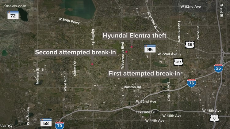 Police arrest 1 suspect, looking for another in car break-ins, thefts