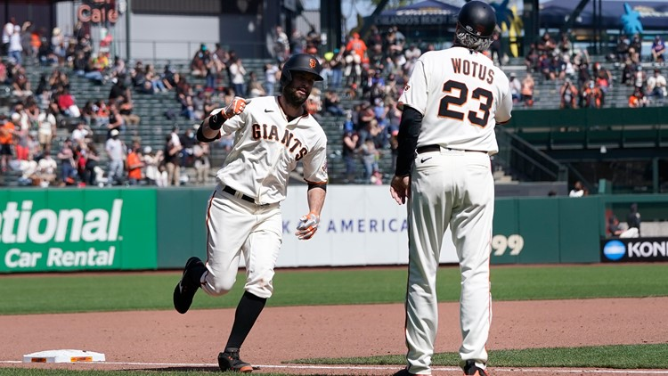 Giants pitchers scatter 8 hits, beat Rockies for sweep