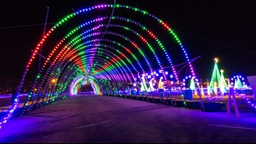 WATCH: Take a virtual reality drive through 1.5 million Christmas lights