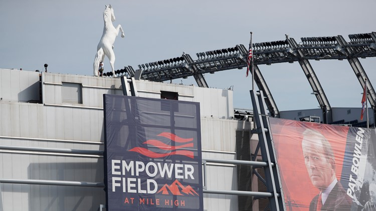 The newly-named Empower Field at Mile High