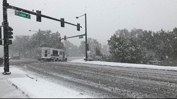 Denver sees record lows, freezing temps following October snow