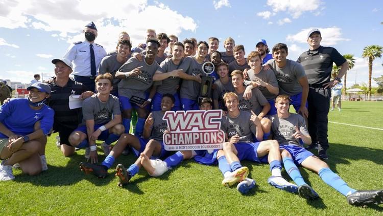 Air Force soccer wins WAC tournament