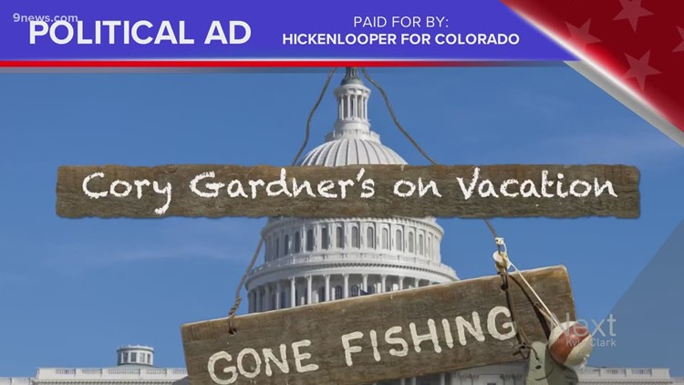 Truth Test: Hickenlooper ad claims Gardner left Senate for vacation