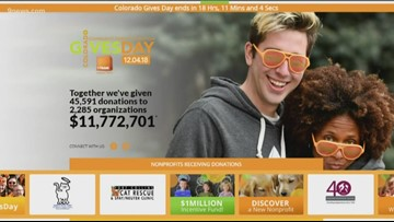 You can donate to a vast number of good causes on Colorado Gives Day