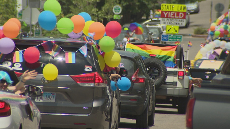 'People are working to change hearts and minds': Pride parade rolls through Boulder