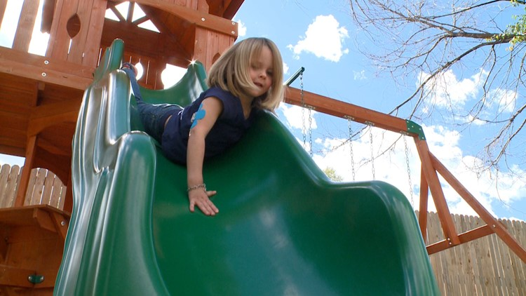 Juniper Himes is 4-years-old -- and one of 1.5 million Americans who have type 1 diabetes.
