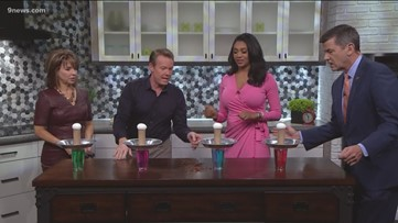 Steve Spangler cooks up an experiment with raw eggs